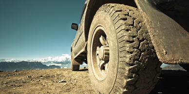 If you're planning to venture off the tarmac, the first (and easiest) upgrade to make is a purpose-built set of tires with a deep tread to keep your grip on mud, snow, sand or ice.