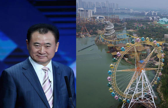 Slide 1 of 31: Wang Jianlin is Asia's wealthiest person and a man with 'Napoleonic ambition' according to The Economist magazine. From building Disney-goading theme parks to snapping up Hollywood movie studios, we reveal how this mega-driven real estate and entertainment tycoon is taking on the world.