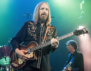 LOS ANGELES, CA - JUNE 25:  Tom Petty of Mudcrutch performs at The Fonda Theatre on June 25, 2016 in Los Angeles, California.  (Photo by Harmony Gerber/WireImage)