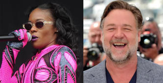 The Crazy night Russell Crowe met Azealia Banks