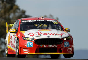 Fabian Coulthard in action at Bathurst.