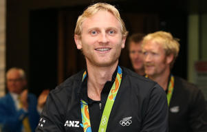 Olympic rowing gold medalist Hamish Bond