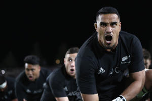 Jerome Kaino of the All Blacks.