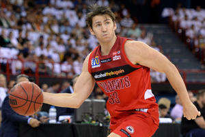 A pic of Damian Martin of the Wildcats in action.