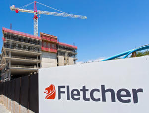 Trade Me, Fletcher Building and Metro Performance Glass led the decline