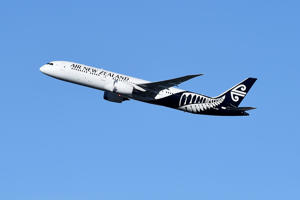 File pic of Air New Zealand aircraft