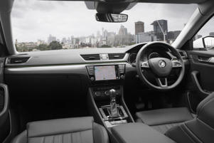 Supplied undated image obtained Friday, Nov. 4, 2016 of the new Skoda Superb, the third generation of the spacious European machine.