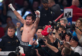Pacquiao Jessie Vargas v Manny Pacquiao, Welterweight Boxing, Las Vegas, USA - 06 Nov 2016 Manny Pacquiao