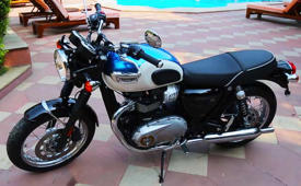 First Look: 2016 Triumph Bonneville T100