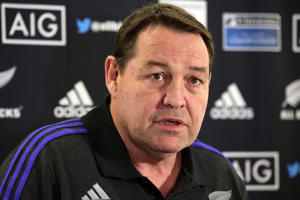 New Zealand All Blacks coach Steve Hansen