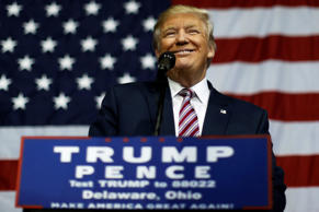 U.S. Republican presidential nominee Donald Trump smiles after making what he said was a major announcement, that he'd abide by the election results if he won, to supporters at a campaign rally in Delaware, Ohio, U.S. October 20, 2016.