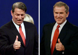George W. Bush vs. Al Gore