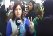 Saima Kanwal was in the middle of a live broadcast when both she and her cameraman were confronted by a Frontier Constabulary (FC) trooper and told to stop filming.