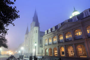 St. Louis Cathedral, French Quarter, New Orleans.