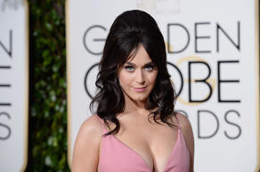 BEVERLY HILLS, CA - JANUARY 10:  73rd ANNUAL GOLDEN GLOBE AWARDS -- Pictured: Recording artist Katy Perry arrives to the 73rd Annual Golden Globe Awards held at the Beverly Hilton Hotel on January 10, 2016.