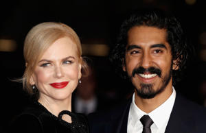 Nicole Kidman and Dev Patel attend the 'Lion' American Express Gala screening during the 60th BFI London Film Festival
