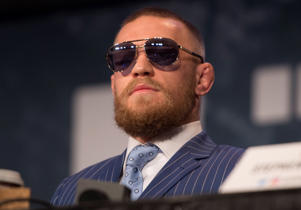 UFC featherweight champion Conor McGregor.