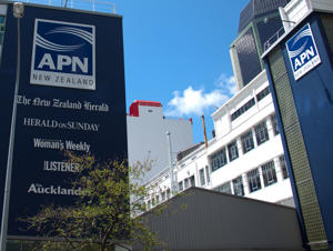 Building of the Media company APN on November 24, 2010 in Auckland, New Zealand
