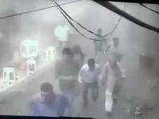 Watch: CCTV Footage Of Explosion In Delhi's Chandni Chowk Area