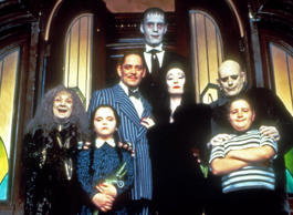 Cast of 1991's 'The Addams Family'