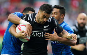 Liam Messam of New Zealand