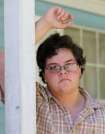 In this Monday, Aug. 22, 2016 photo, transgender high school student Gavin Grimm poses in Gloucester, Va. Grimm was born female but identifies as male,