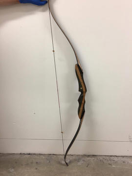 A bow used in an aggravated break and enter in Sydney's south-west on Sunday