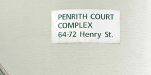 Penrith Court in western Sydney