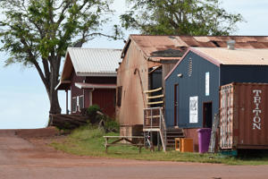 The remote aboriginal community of Milingimbi in the Northern Territory