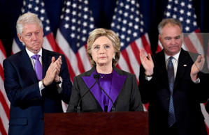 """We owe him an open mind and the chance to lead,"" said Democratic presidential c..."