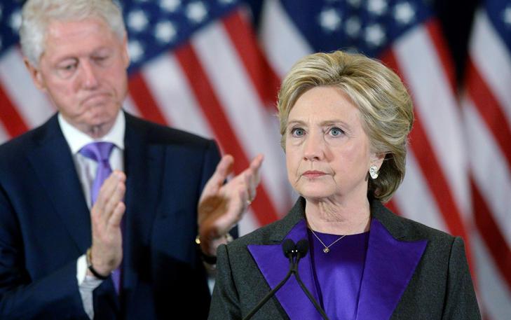 Neue Hoffnung für Clinton? Die Demokratin hatte ihre Niederlage mit Fassung getragen.