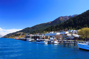 Lake Wakatipu in Queenstown.