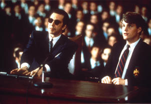 FILM - 'SCENT OF A WOMAN' - 1993 AL PACINO AND CHRIS O'DONNELL