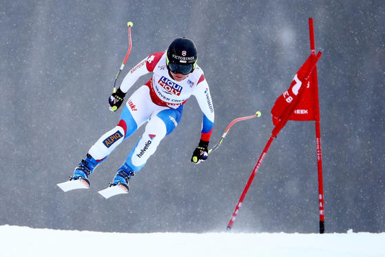 BEAVER CREEK, CO - FEBRUARY 03: Fabienne Suter of Switzerland races during the Ladies' Super-G on the Raptor racecourse on Day 2 of the 2015 FIS Alpine World Ski Championships on February 3, 2015 in Beaver Creek, Colorado.  (Photo by Al Bello/Getty Image