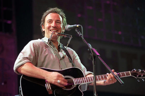 Amnesty International Charity Concert, Paris, France - 1998, Bruce Springsteen