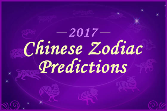 "Slide 1 of 26: <p>2017 is the year of the Rooster. In Chinese culture, zodiac signs (twelve animal signs) are determined by the lunar year in which you are born in. Your age can be calculated with these signs and your monetary matters can be predicted. Will you be extremely lucky in the upcoming Chinese year? What do you must pay extra attention to when it comes to your love, career, and money horoscope? Let's take a look and see what will happen to you in 2017. </p><p>Please note that all the information is taken from <a href=""http://www.click108.com.tw/"">Click 108.</a></p>"