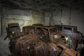 Abandoned French Cars Found in a Mine, Could Have Been Hidden during World War I...