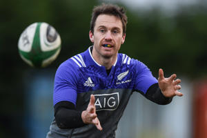 Ben Smith of All Blacks during New Zealand Rugby Squad Training.