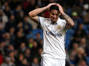James ha mostrado su predisposición a abandonar el Real Madrid.