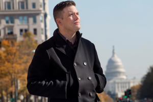 Richard Spencer in town for the largest white nationalist and Alt Right conference of the year in Washington, DC on Nov. 18, 2016.