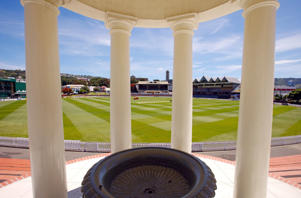 The Basin reserve cricket ground.