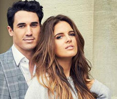 Binky Felstead with Made in Chelsea costar Josh 'JP' Paterson