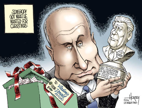 Slide 10 of 43: ©David Horsey/Los Angeles Times