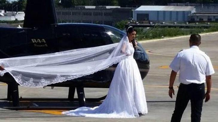 Polícia acredita que helicóptero com noiva caiu por causa do mau tempo