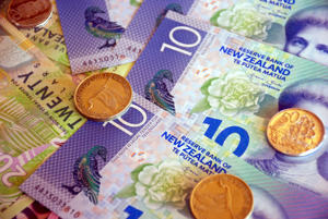NZ dollar gains ahead of dairy auction