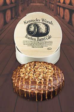Kentucky Woods Bourbon Barrel Cake