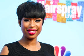 "Jennifer Hudson arrives at the ""Hairspray Live!"" Press Junket at the Universal L..."