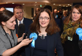 Caroline Johnson holds seat for Conservatives