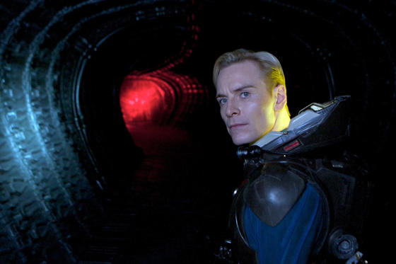 Slide 1 of 19: Prometheus - 2012 PROMETHEUS, Michael Fassbender