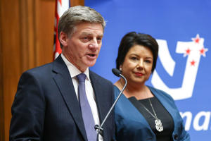 Image of new Prime Minister BIll English and Deputy Minister Paula Bennett